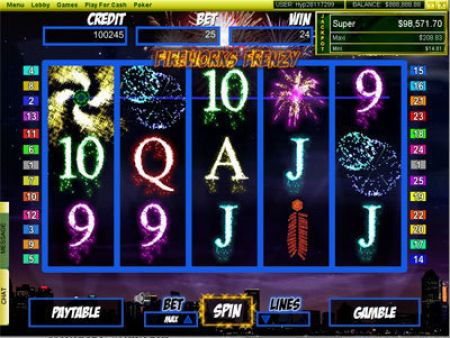 Play FireWorks Frenzy - Free Slot Game