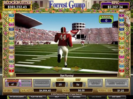 Play Forrest Gump - Free Slot Game