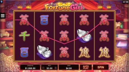 Play Fortune Girl - Free Slot Game