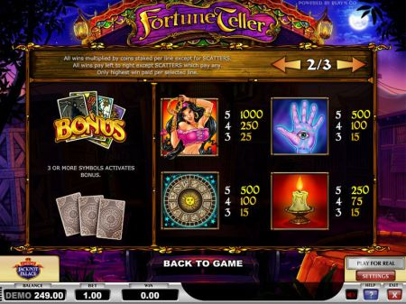 Play Fortune Teller - Free Slot Game