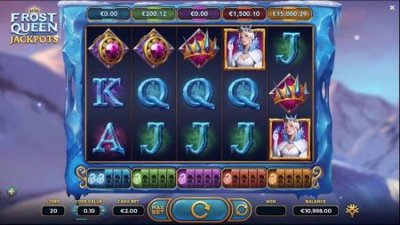 Play Frost Queen Jackpots - Free Slot Game