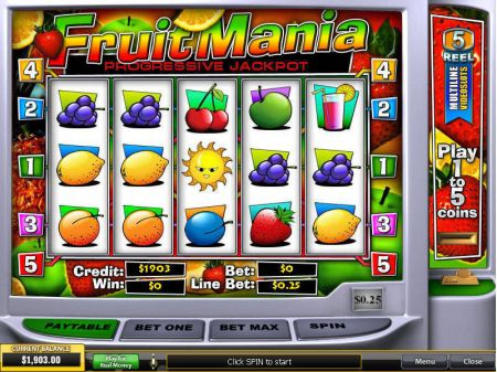 Play FruitMania - Free Slot Game