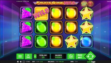 Play Fruits Gone Wild - Free Slot Game