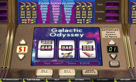 Play Galactic Odyssey - Free Slot Game