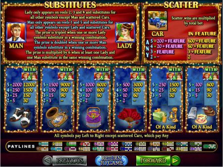 Play Glitz and Glamour - Free Slot Game