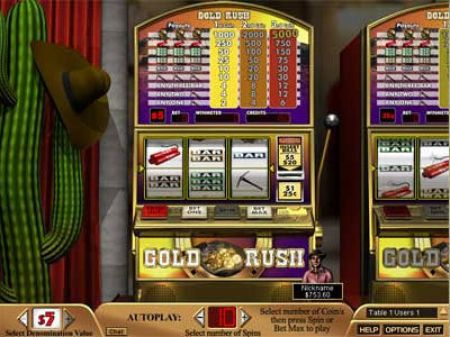Play Gold Rush - Free Slot Game