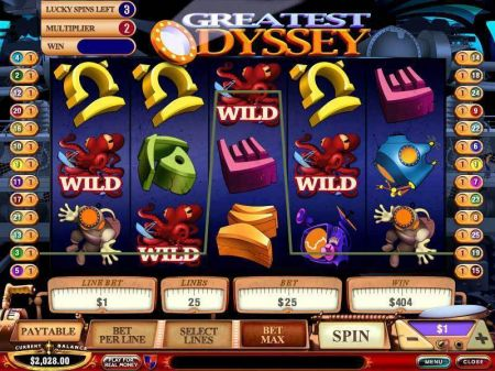 Play Greatest Odyssey - Free Slot Game