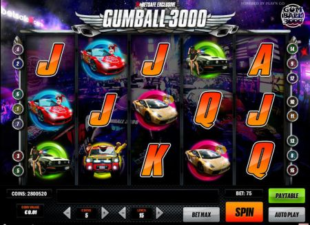 Play Gumball 3000 - Free Slot Game