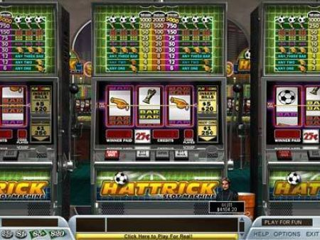 Play Hattrick - Free Slot Game