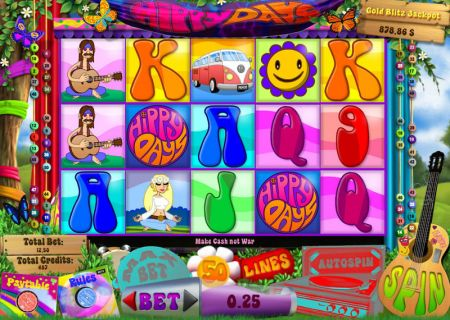 Play Hippy Days - Free Slot Game