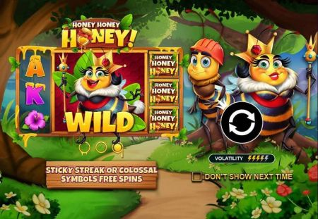Play Honey Honey Hone - Free Slot Game