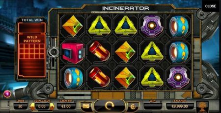 Play Incinerator - Free Slot Game