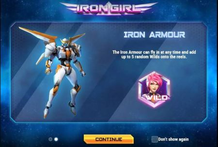 Play Iron Girl - Free Slot Game
