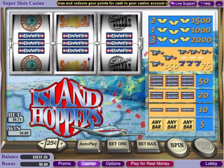 Play Island Hoppers - Free Slot Game