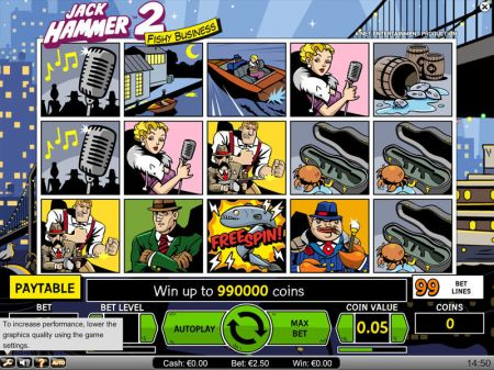 Play Jack Hammer 2 - Free Slot Game