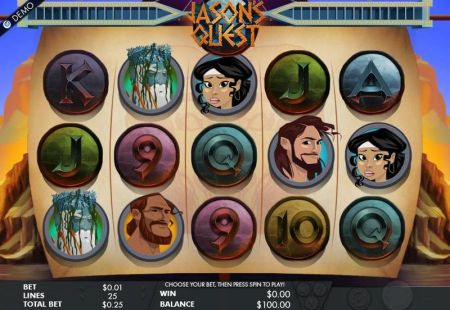 Play Jason's Quest - Free Slot Game