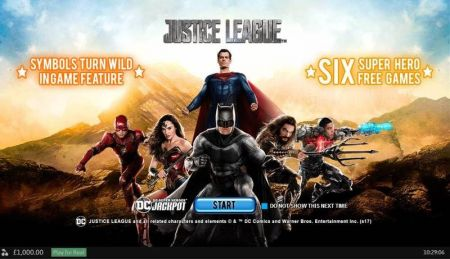 Play Justice League - Free Slot Game