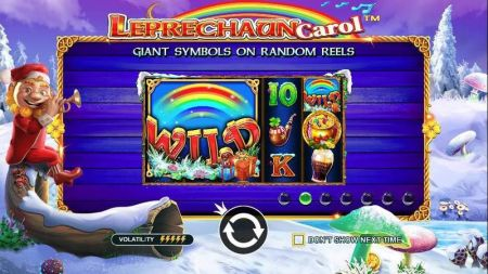 Play Leprechaun Carol - Free Slot Game