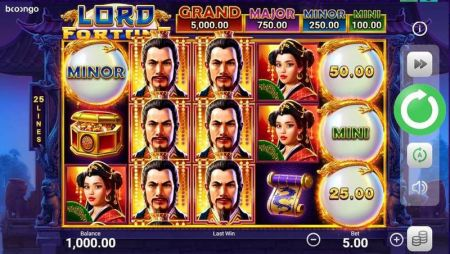 Play Lord Fortune - Free Slot Game