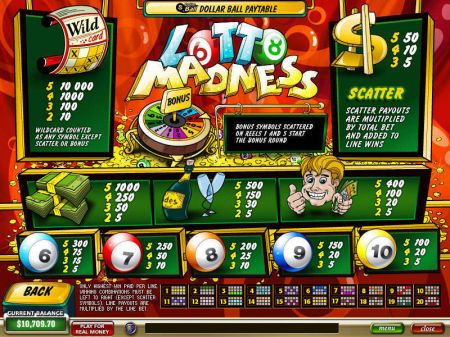Play Lotto Madness - Free Slot Game