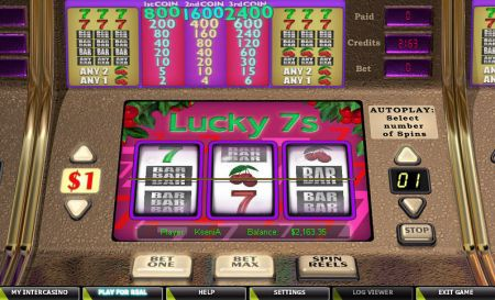 Play Lucky 7s - Free Slot Game