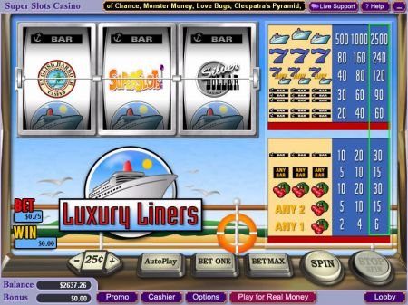 Play Luxury Liners - Free Slot Game