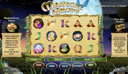 Play Magical Grove - Free Slot Game