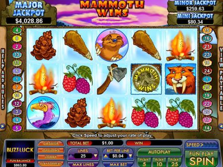 Play Mammoth Wins - Free Slot Game