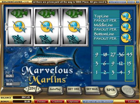 Play Marvelous Marlins - Free Slot Game