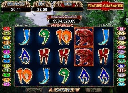 Play Megasaur - Free Slot Game