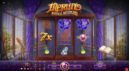 Play Merlin's Mystical Multipliers - Free Slot Game