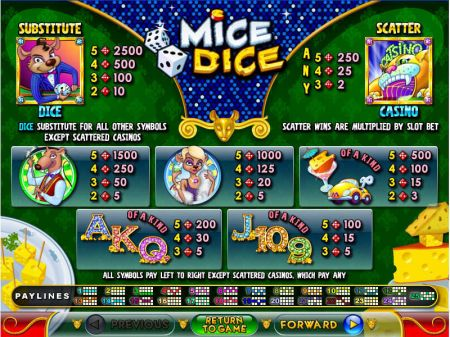 Play Mice Dice - Free Slot Game