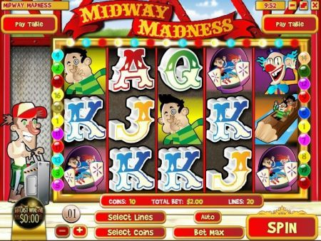 Play Midway Madness - Free Slot Game