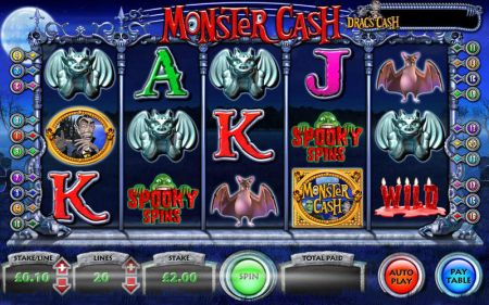 Play Monster Cash - Free Slot Game