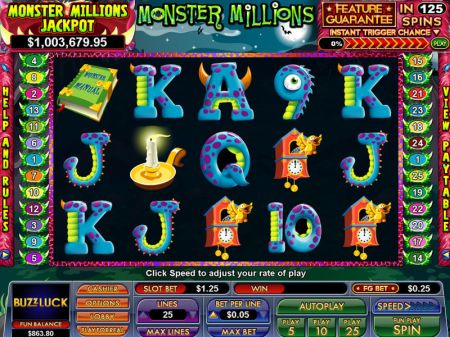 Play Monster Millions - Free Slot Game