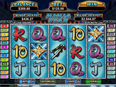 Play Ninja Star - Free Slot Game