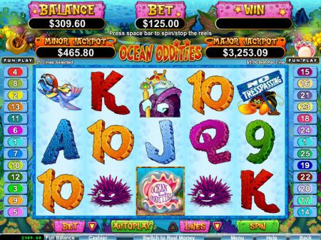 Play Ocean Oddities - Free Slot Game