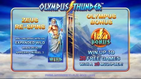 Play Olympus Thunder - Free Slot Game