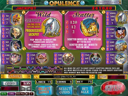 Play Opulence - Free Slot Game