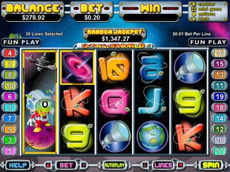 Play Out of This World - Free Slot Game