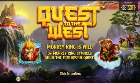 Play Quest to the West - Free Slot Game