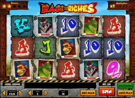 Play Rage to Riches - Free Slot Game