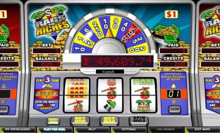 Play Rags to Riches 1 Line - Free Slot Game