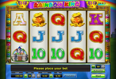 Play Rainbow King - Free Slot Game