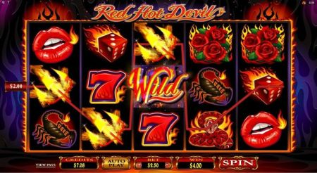 Play Red Hot Devil - Free Slot Game