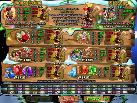 Play Return of the Rudolph - Free Slot Game