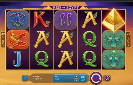 Play Rise of Egypt - Free Slot Game
