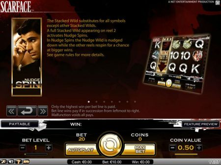 Play Scarface - Free Slot Game