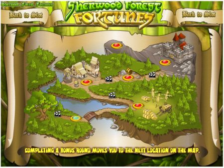 Play Sherwood Forest Fortunes - Free Slot Game