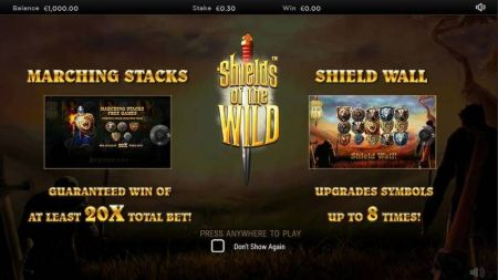 Play Shields of the Wild - Free Slot Game
